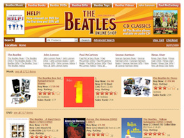 The Beatles Online Shop