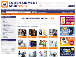 Entertainment Shop