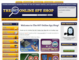 The 007 Online Spy Shop