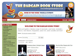 The Bargain Book Store